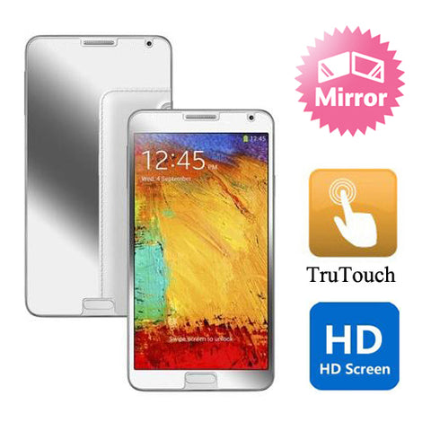 Samsung Galaxy Note 4 - Mirror Screen Protector Silicone TPU Film - Full Cover
