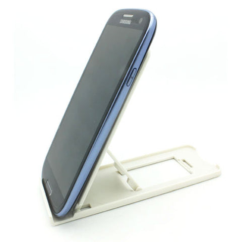 Portable Travel Fold-up Stand - White - Fonus T05