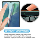 Screen Protector Tempered Glass 3D Curved Edge Full Cover HD Clear - ZDE92