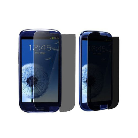 Samsung Galaxy S3 - Privacy Screen Protector TPU Film