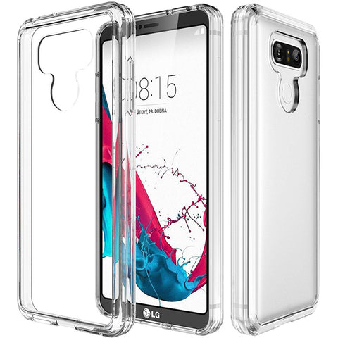 Clear Case Hybrid Bumper Cover - Scratch-Resistant - Shockproof - Clear - Selna L04