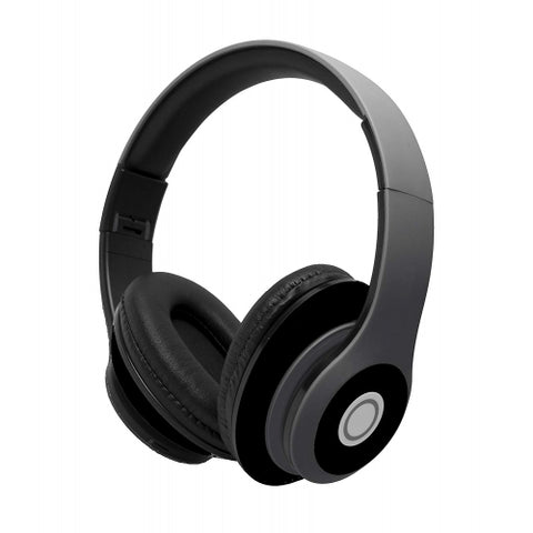 Over the Head Wireless Headphones Folding Headset - Black - L79