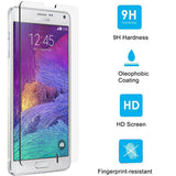 Samsung Galaxy Note 4 - Tempered Glass Screen Protector - HD Clear - Full Cover