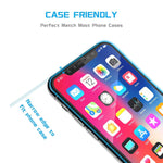 iPhone X/XS/11 Pro - Anti-glare Screen Protector Tempered Glass - Full Cover - Fingerprint Resistant