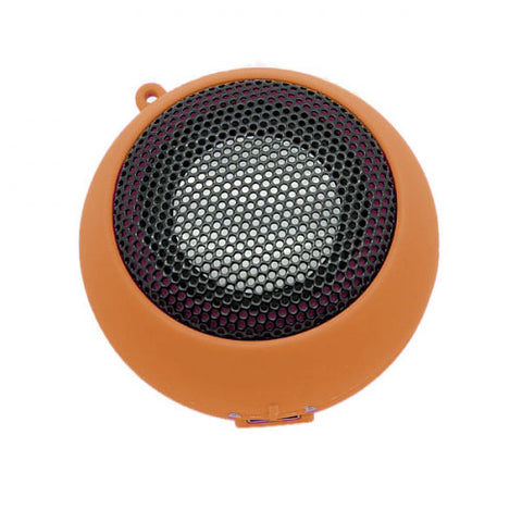 Multimedia Loud Speaker - Wired - MicroSD Player - Orange - Fonus F81