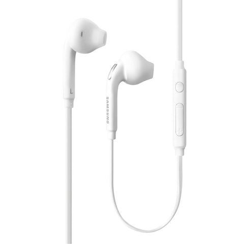Samsung Original Earphones 3.5mm Headphones Wired Earbuds - EO-EG920BW - White