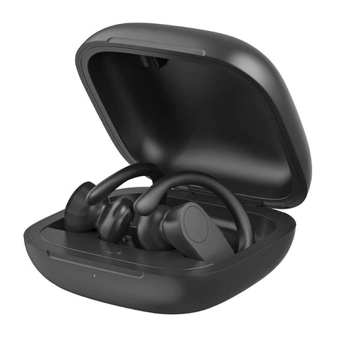 TWS Wireless Earphones Behind the Ear Buds - Black - L86
