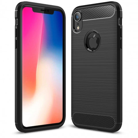 Ultra Slim Carbon Fiber Case Cover - Shockproof - Black - Fonus R97