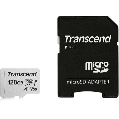 128GB Memory Card Transcend High Speed MicroSD Class A1 U3 MicroSDXC