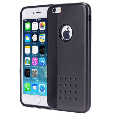 Hybrid Case Dual Layer Armor Defender Cover - Dropproof - Gray - Selna N75