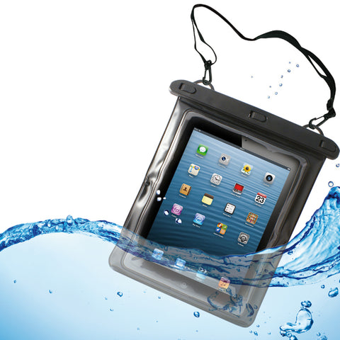 IPX8 Waterproof Case Underwater Transparent Cover - Touch Screen - L - Clear - Fonus B17