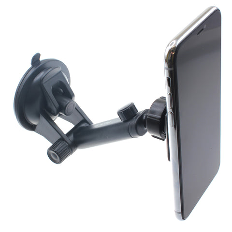 Magnetic Car Mount Holder for Dash and Windshield - Telescopic Arm - Fonus E60