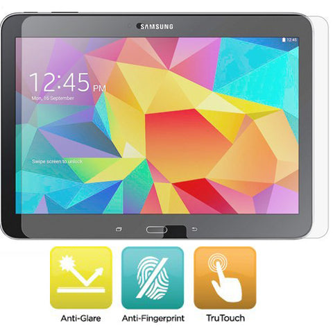 Samsung Galaxy Tab 4 10.1 - Anti-glare Screen Protector Silicone TPU Film - Full Cover