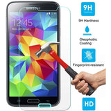 Samsung Galaxy S5 - Tempered Glass Screen Protector - HD Clear - Full Cover