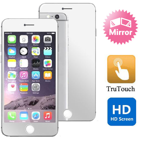 iPhone 6S/7/8 - Mirror Screen Protector Silicone TPU Film - Full Cover