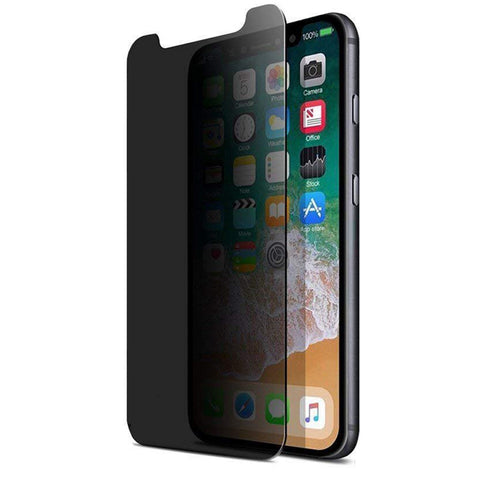 iPhone XS/11 Pro Max - Privacy Screen Protector - Tempered Glass - 3D Full Cover