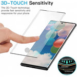 Screen Protector Tempered Glass 3D Curved Edge Full Cover HD Clear - ZDT37