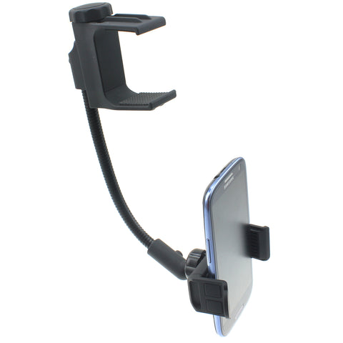 Rear View Mirror Car Mount Phone Holder - Fonus J89