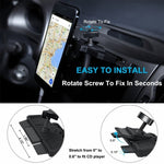 Car Mount Phone Holder for CD Player Slot - Fonus J26