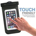 IPX8 Waterproof Case Underwater Transparent Cover - Touch Screen - Clear - Fonus R79