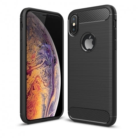 Ultra Slim Carbon Fiber Case Cover - Shockproof - Black - Fonus R95
