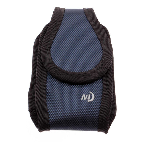 Nite Ize Case Belt Clip Canvas Rugged Holster - Magnet Cover - Navy