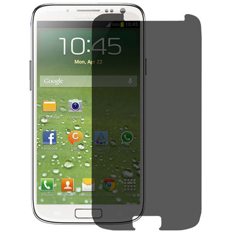 Samsung Galaxy S4 - Privacy Screen Protector TPU Film