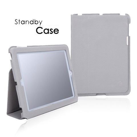 Gray PU Leather Slim Case