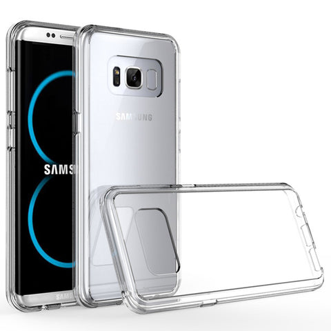 Clear Case Hybrid Bumper Cover - Scratch-Resistant - Shockproof - Clear - Selna L14