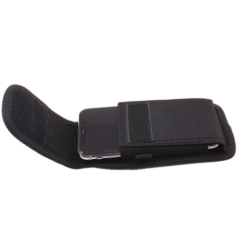 Case Rugged Holster Belt Clip Cover - LCASE51 - Black - Fonus P01