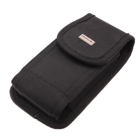 Case Rugged Holster Belt Clip Cover - LCASE53 - Black - Fonus B95