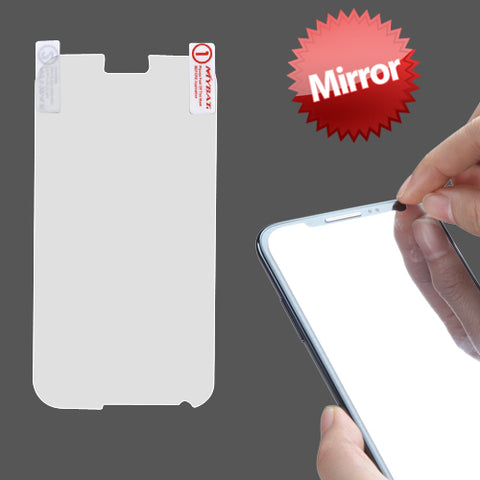 Samsung Galaxy Note 2 - Mirror Screen Protector Silicone TPU Film - Full Cover