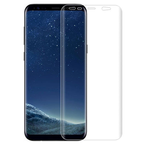 Samsung Galaxy S8 - Screen Protector Silicone TPU Film - Full Cover - HD Clear