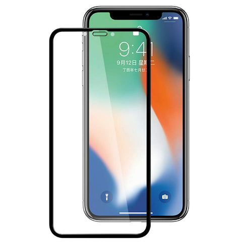 iPhone XR/11 - Anti-glare Screen Protector Tempered Glass - Full Cover - Fingerprint Resistant