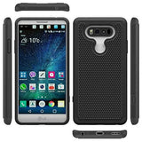 Hybrid Case Dual Layer Armor Defender Cover - Dropproof - Black - Selna M58