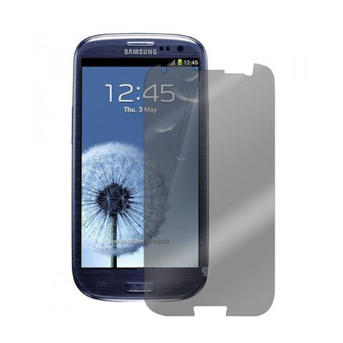 Samsung Galaxy S3 - Anti-glare Screen Protector TPU Film - Fingerprint Resistant