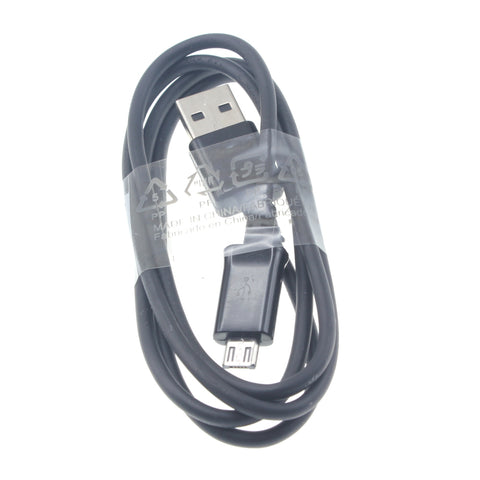 3ft Micro USB Cable Charger Cord - TPE - Black - Fonus B79