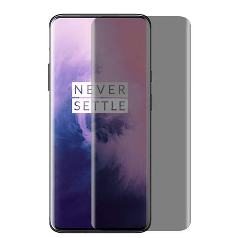 OnePlus 7 Pro - Privacy Screen Protector Tempered Glass - Full Cover