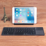 Wireless Keyboard Touchpad Folding Rechargeable - L66