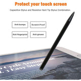 Stylus Capacitive and Resistive Pen Touch Compact Lightweight