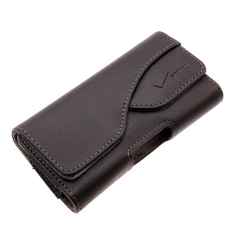 Verizon Leather Case Belt Clip Holster - Cover - LCASEVZ4 - Black