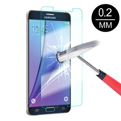 Samsung Galaxy Note 5 - Tempered Glass Screen Protector - HD Clear - Full Cover