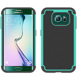 Hybrid Case Dual Layer Armor Bumper Cover - Dropproof - Green - Selna N12