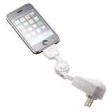 3-in-1 Home Car Charger USB Cable Retractable