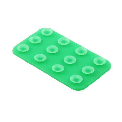 Mini Double Sided Suction Holder - Non-Slip - Green - Xenda G24