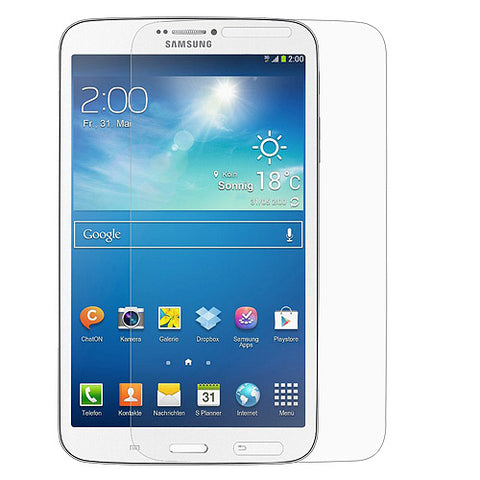 Samsung Galaxy Tab 3 8 - Anti-glare Screen Protector TPU Film - Fingerprint Resistant