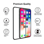 iPhone XS/11 Pro Max - Tempered Glass Screen Protector - HD Clear - 5D Curved - Full Cover