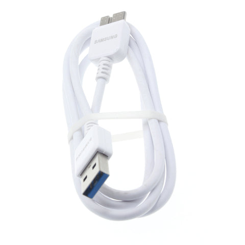 Samsung USB 3.0 Cable Charger Cord - OEM - White