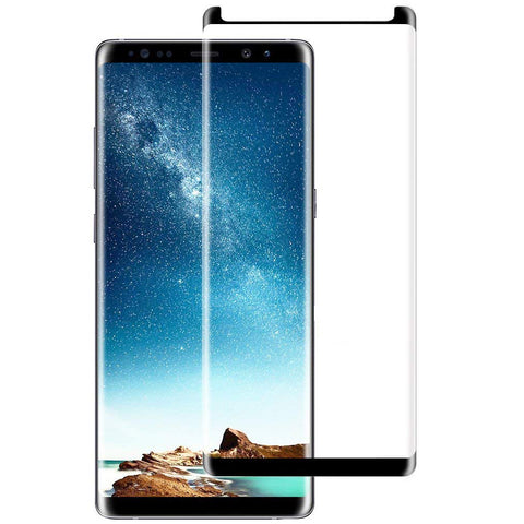 Samsung Galaxy Note 8 - Anti-glare Screen Protector Tempered Glass - Full Cover - Fingerprint Resistant