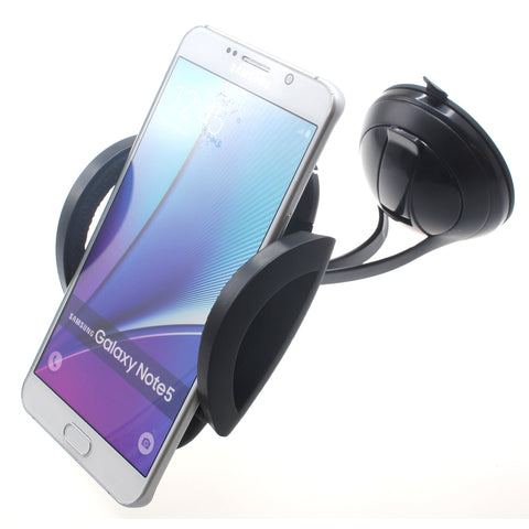 Universal Car Mount Phone Holder for Dash and Windshield - Metal Arms - Fonus B24